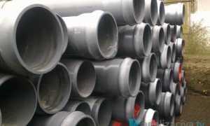 Канализационные трубы ПВХ: виды, размеры и цены