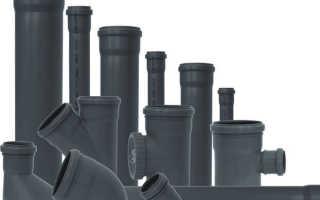 Полиэтиленовые трубы для канализации — технические характеристики разных видов