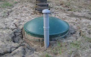 Выгребная яма при высоком уровне грунтовых вод — делаем правильно