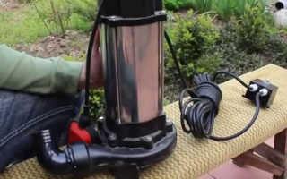 Погружной фекальный насос с измельчителем — виды и различия