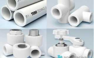 Полипропиленовые трубы канализационные: размеры и цена