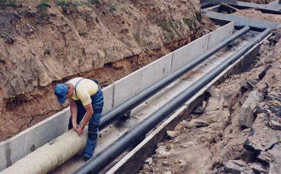 подключение к центральной канализации частного дома