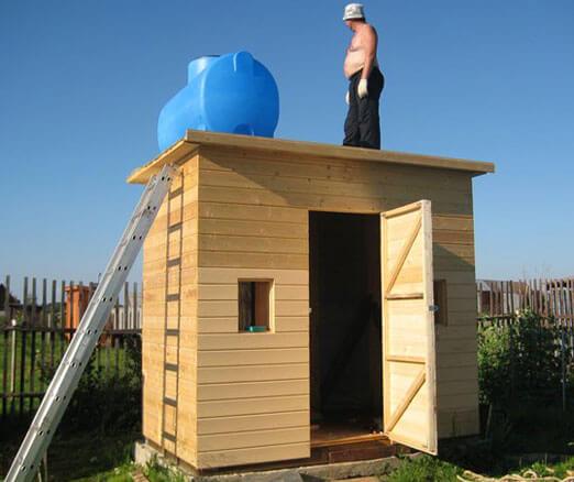 туалетно душевая кабина