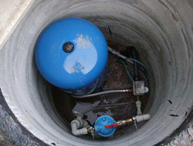 станция подачи воды из скважины