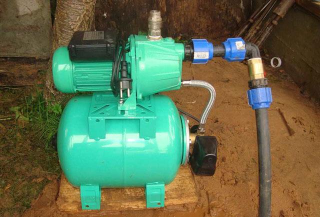 система водоснабжения на даче из колодца