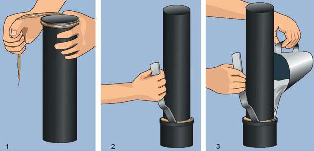 труба канализационная с раструбом