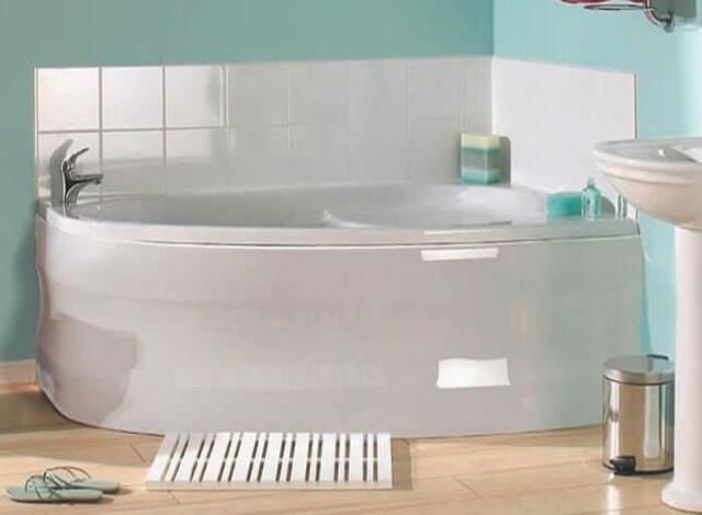 какие бывают акриловые ванны