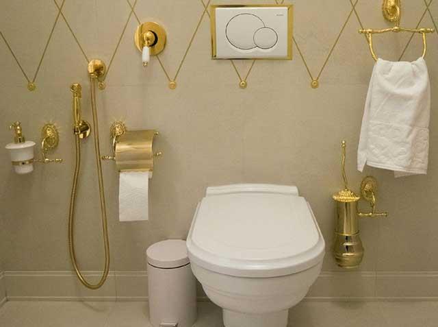 гигиенический смеситель для туалета