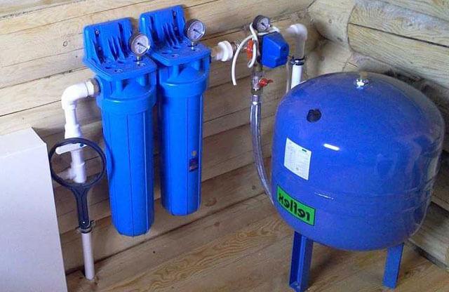 установка гидроаккумулятора для систем водоснабжения своими руками