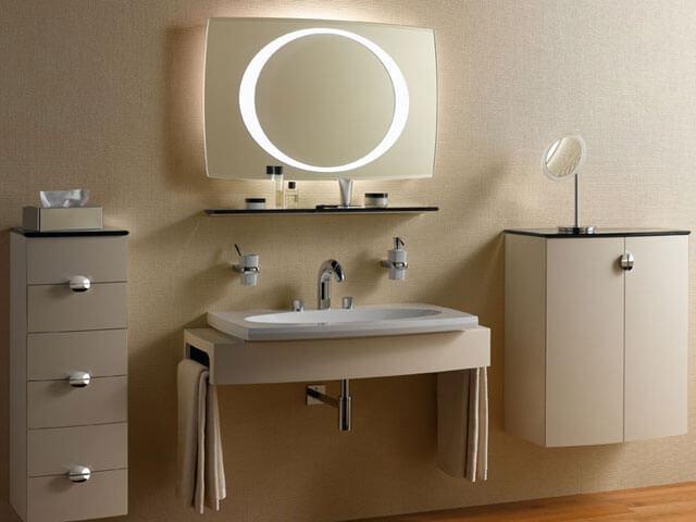 установка раковины в ванную комнату