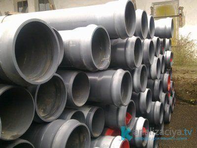 Преимущества канализационных труб из ПВХ