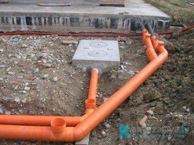 Особенности монтажа ПВХ труб для наружной канализации