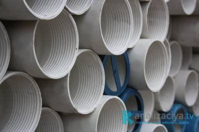 Особенности канализационных НПВХ труб