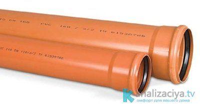 Как выбрать канализационную трубу 75 мм?