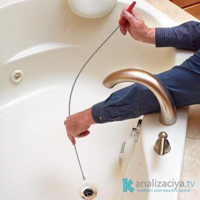 Подручные средства для очистки труб в домашних условиях