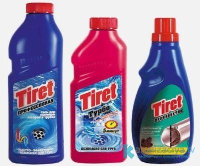 Средство для прочистки труб Tiret