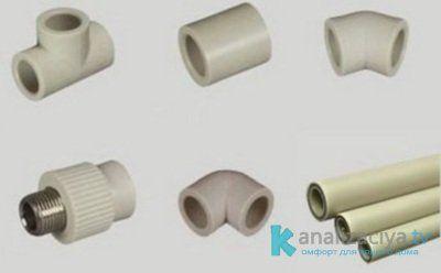 Соединение пластиковых труб при помощи фитингов