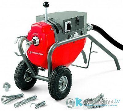 Гидравлические машины для чистки труб