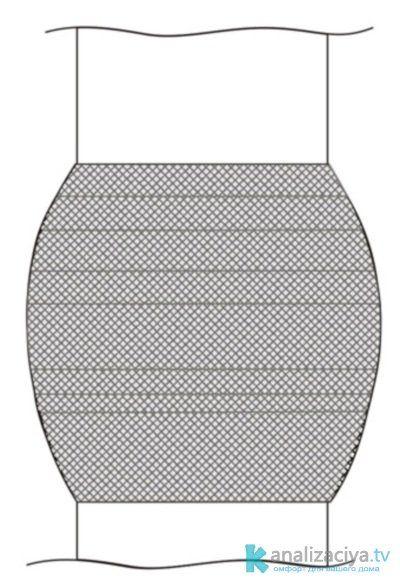 Ремонт чугунной трубы при помощи цемента и бинта