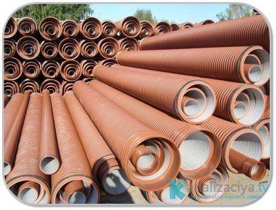 Особенности труб для наружной канализации