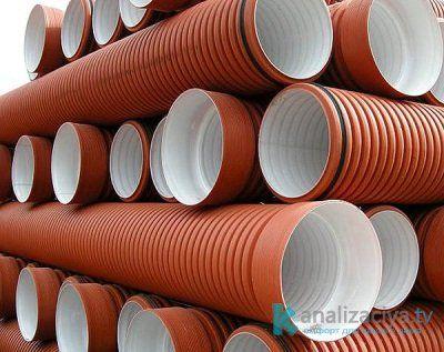 Особенности гофрированных канализационных труб