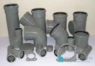 Поливинилхлоридные трубы для внутренней канализации