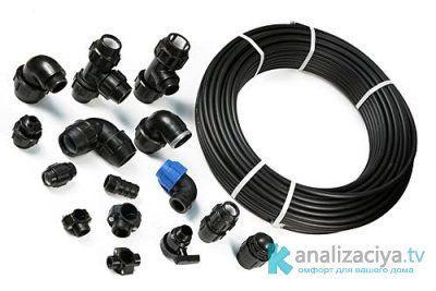 Полиэтиленовые трубы для внутренней канализации