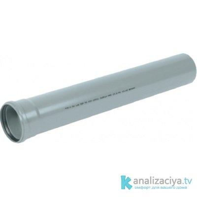 Гладкая канализационная труба 32 мм