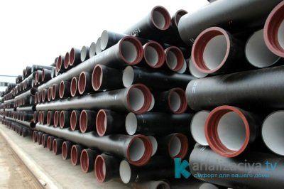 Чугунные канализационные трубы 300 мм