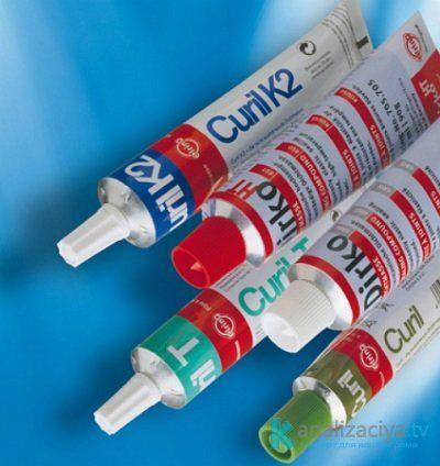 Устранение течи при помощи жидкого герметика
