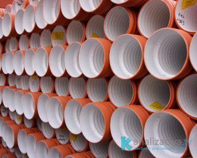 Гофрированные пластиковые трубы
