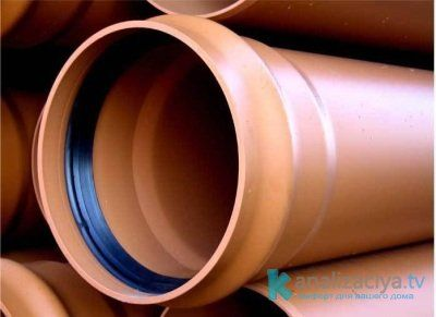 Безнапорные пластиковые трубы