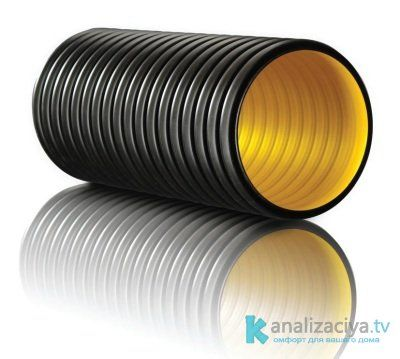Пластиковая канализационная труба 250 мм