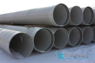 Стеклопластиковые напорные трубы