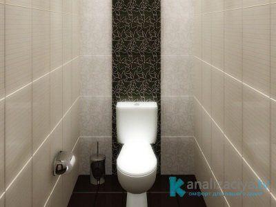 Фальш-стенка для закрытия труб в туалете