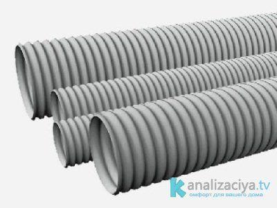 Гофрированные трубы для внутренней канализации