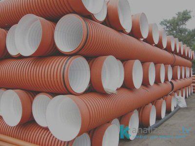 Гофрированные канализационные трубы
