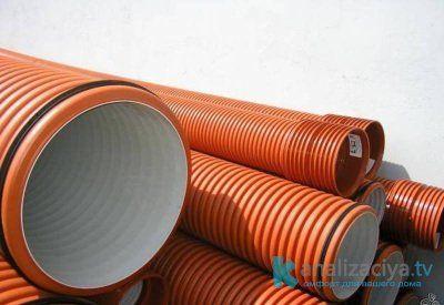 Гофрированные трубы из полипропилена
