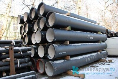 Чугунные канализационные трубы
