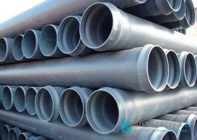 Особенности канализационных труб