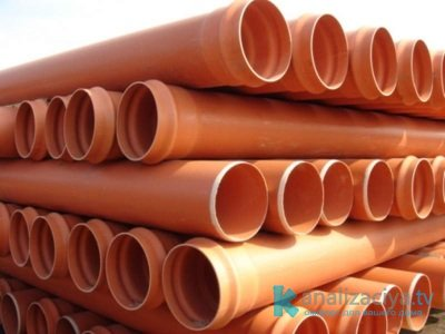 Особенности оранжевых (рыжих) канализационных труб