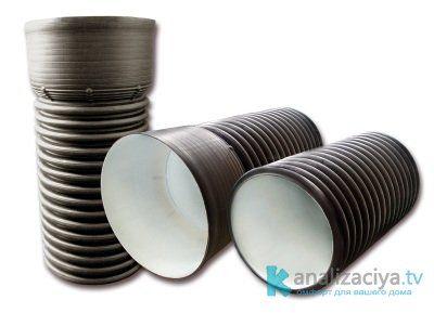 Гофрированные трубы для ливневой канализации