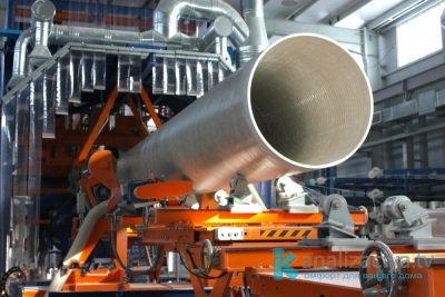 Производство стеклопластиковой трубы