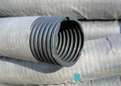 Применение и особенности геотекстиля для дренажных труб