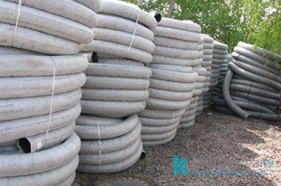 Размеры и цена дренажных труб с геотекстилем