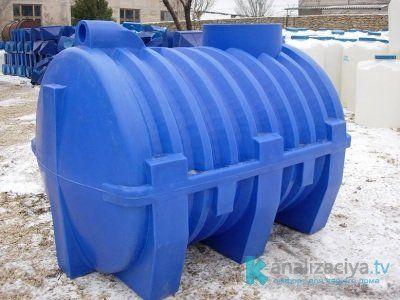 Сфера применения пластиковых выгребных ям