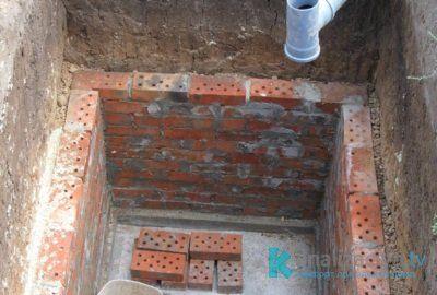 Строительство выгребной ямы для частного туалета