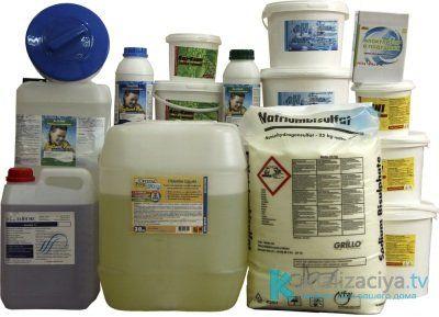 Очистка выгребной ямы химическими средствами