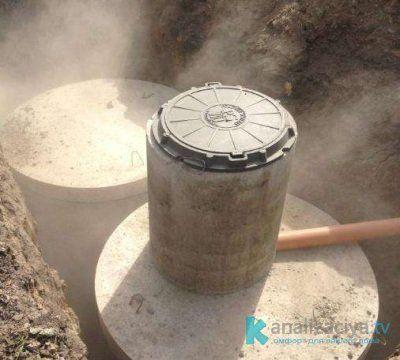 Разморозка выгребной ямы горячей водой