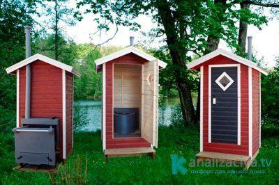 Варианты строительных материалов для туалета с выгребной ямой